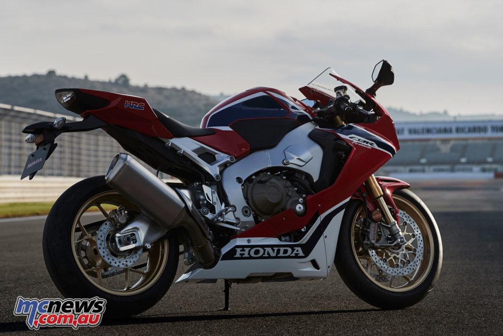 Honda's CBR1000RR SP