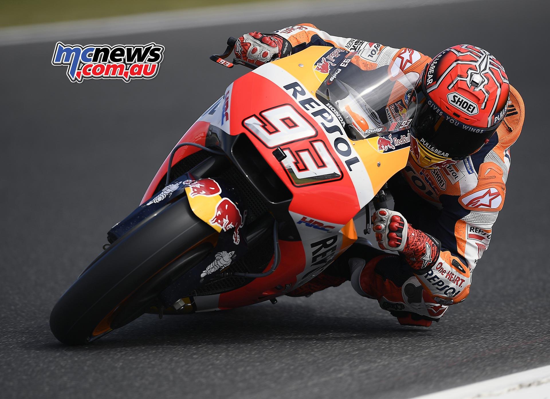 Marc Marquez takes Phillip Island MotoGP Pole | MCNews.com.au