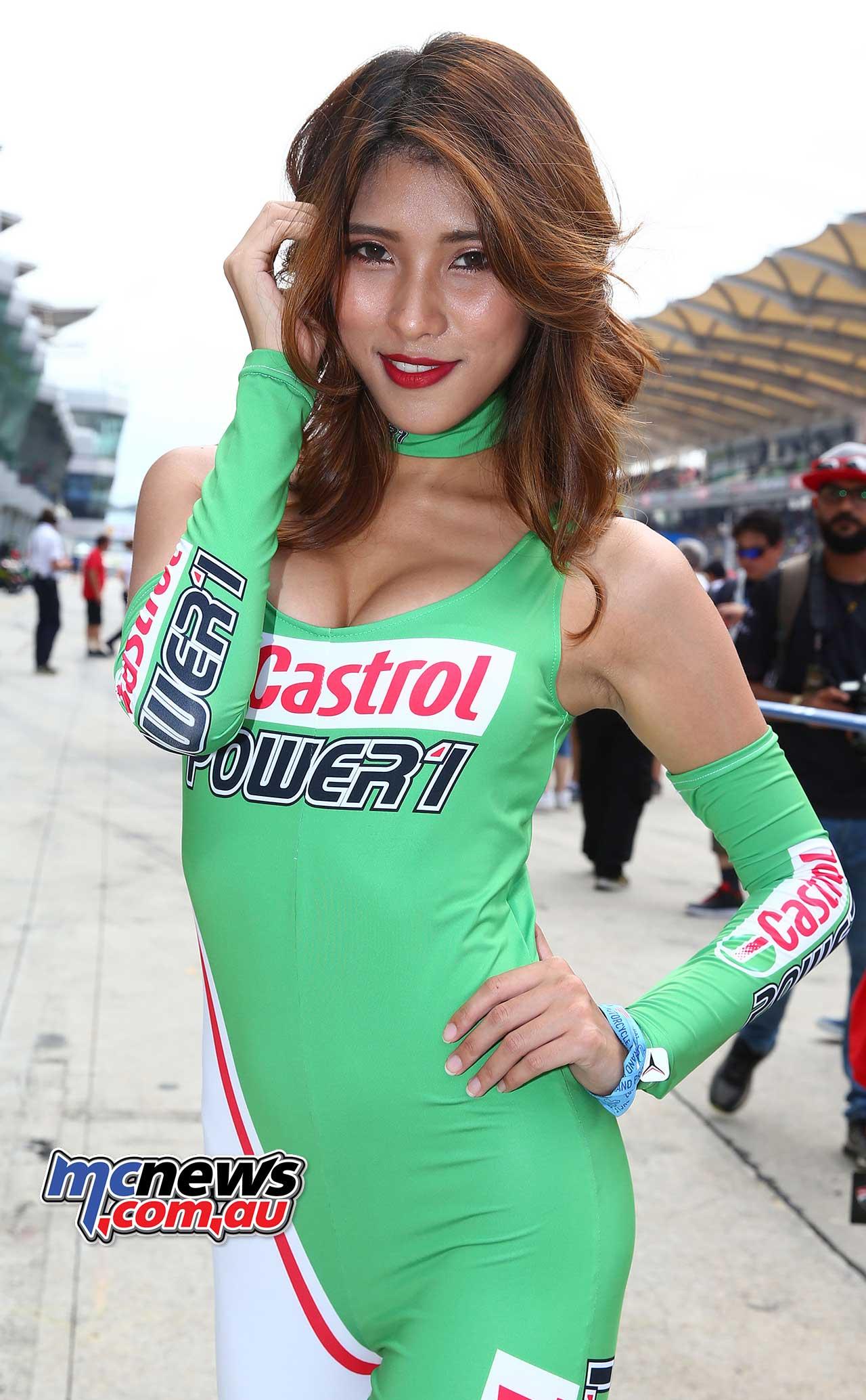Best Enduro Motorcycle >> 2017 Sepang MotoGP Grid Girls   MCNews.com.au
