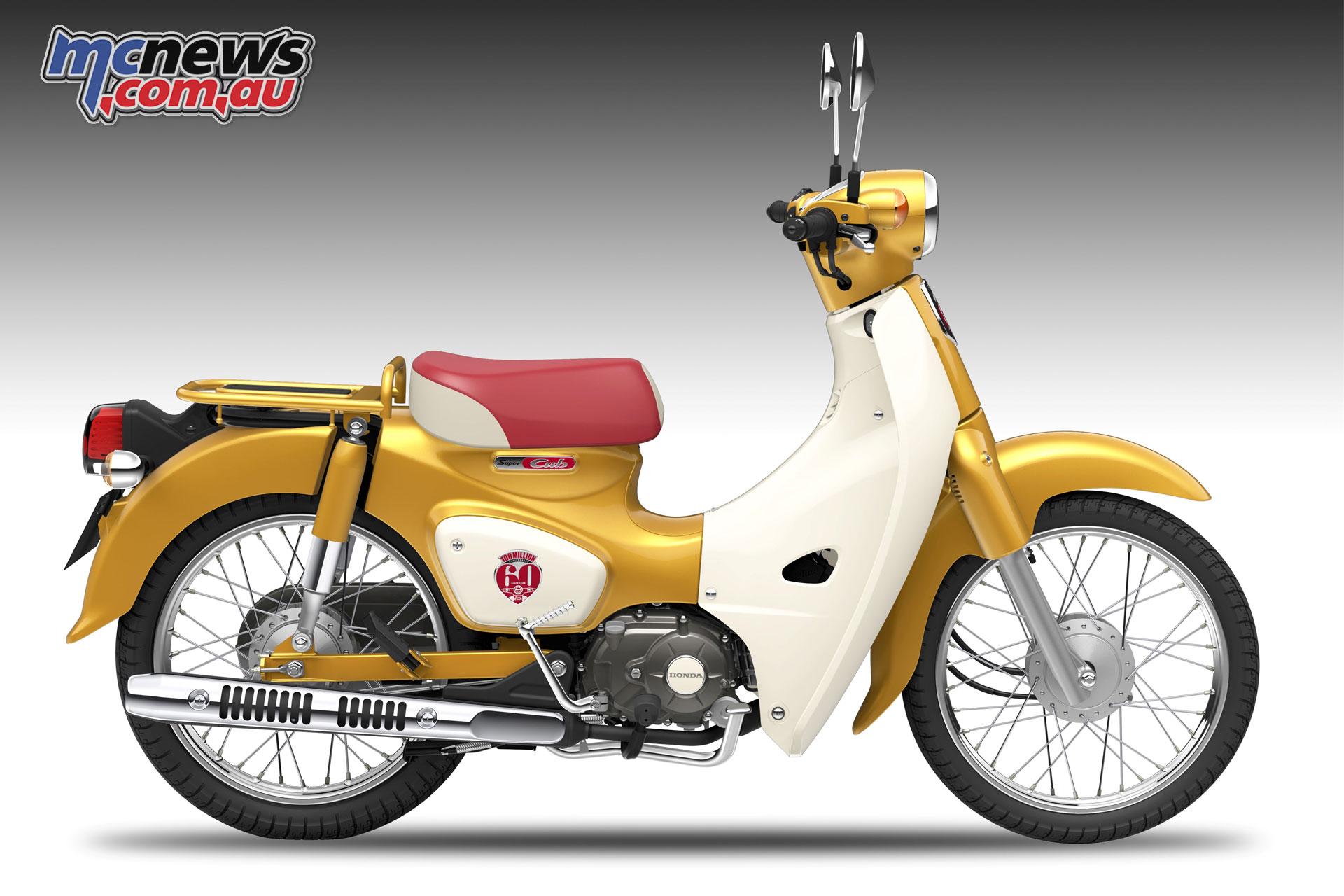 Honda Super Cub 110 Commemorative Edition Concept Mcnews Com Au