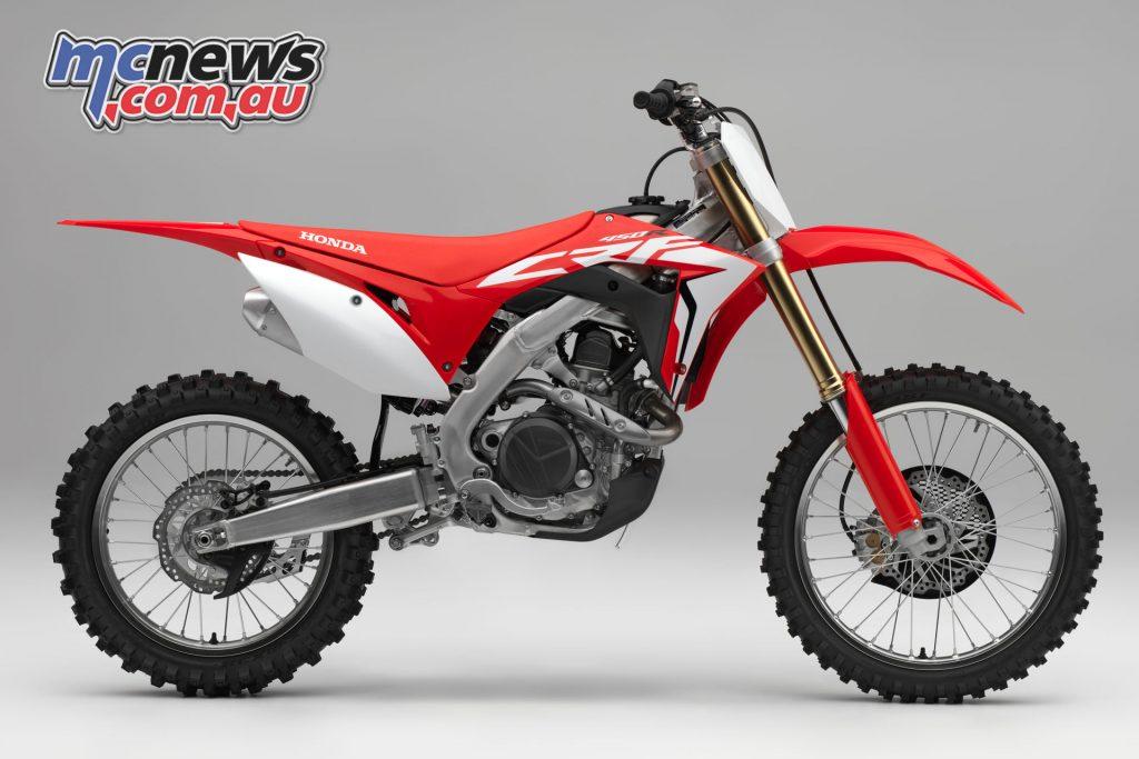 The 2018 Honda CRF450R