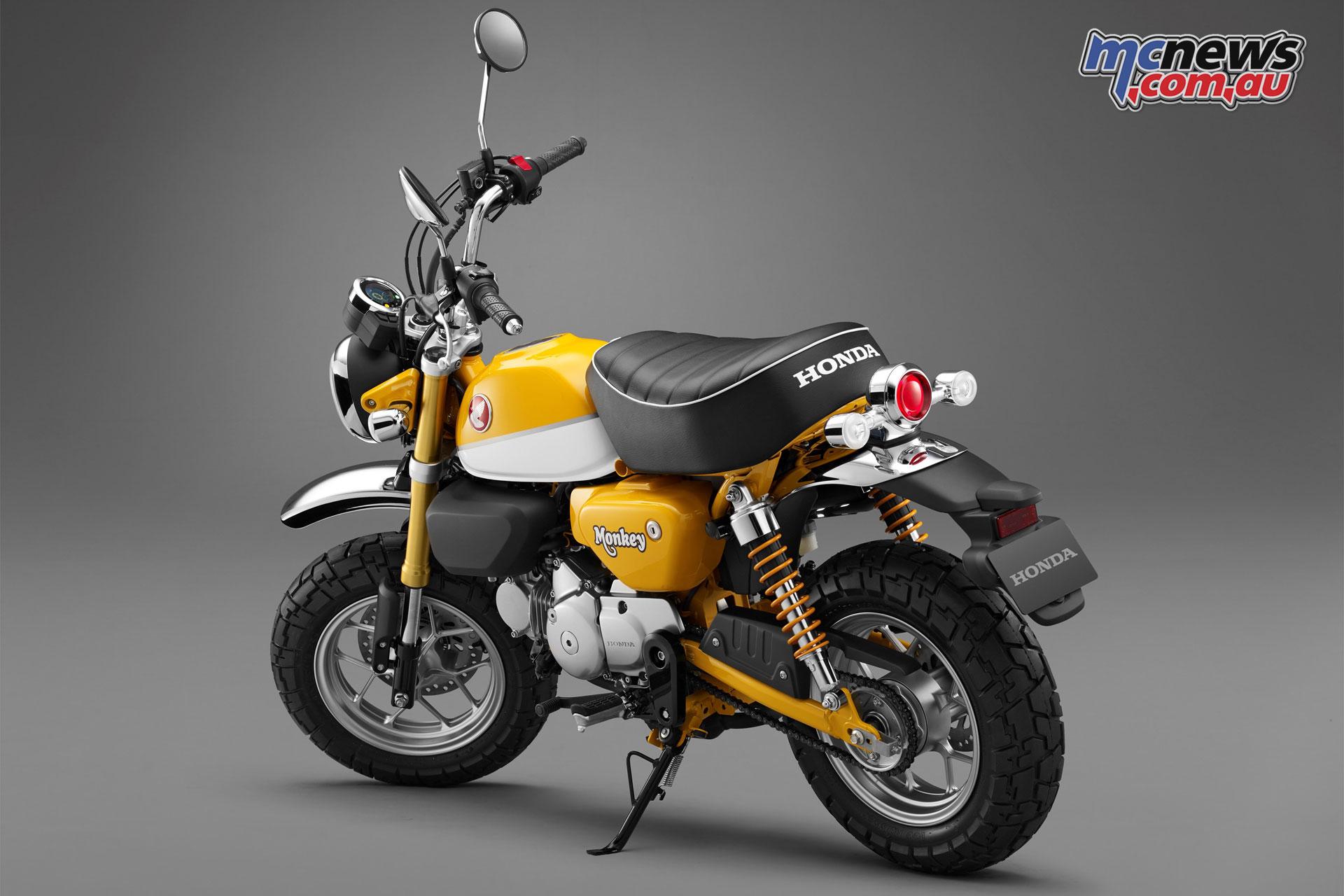 2018 honda bike 125. perfect 125 the honda monkey 125 aims to offer a charming friendly experience with  u0027zippy to 2018 honda bike