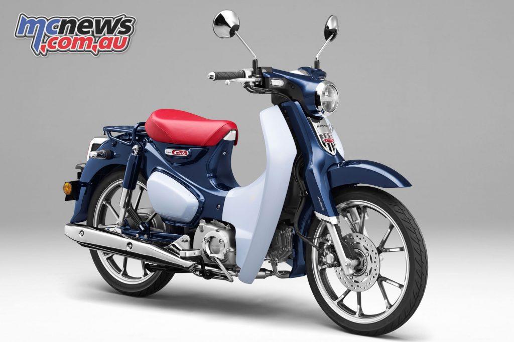 2018 Honda Super Cub 125 concept art