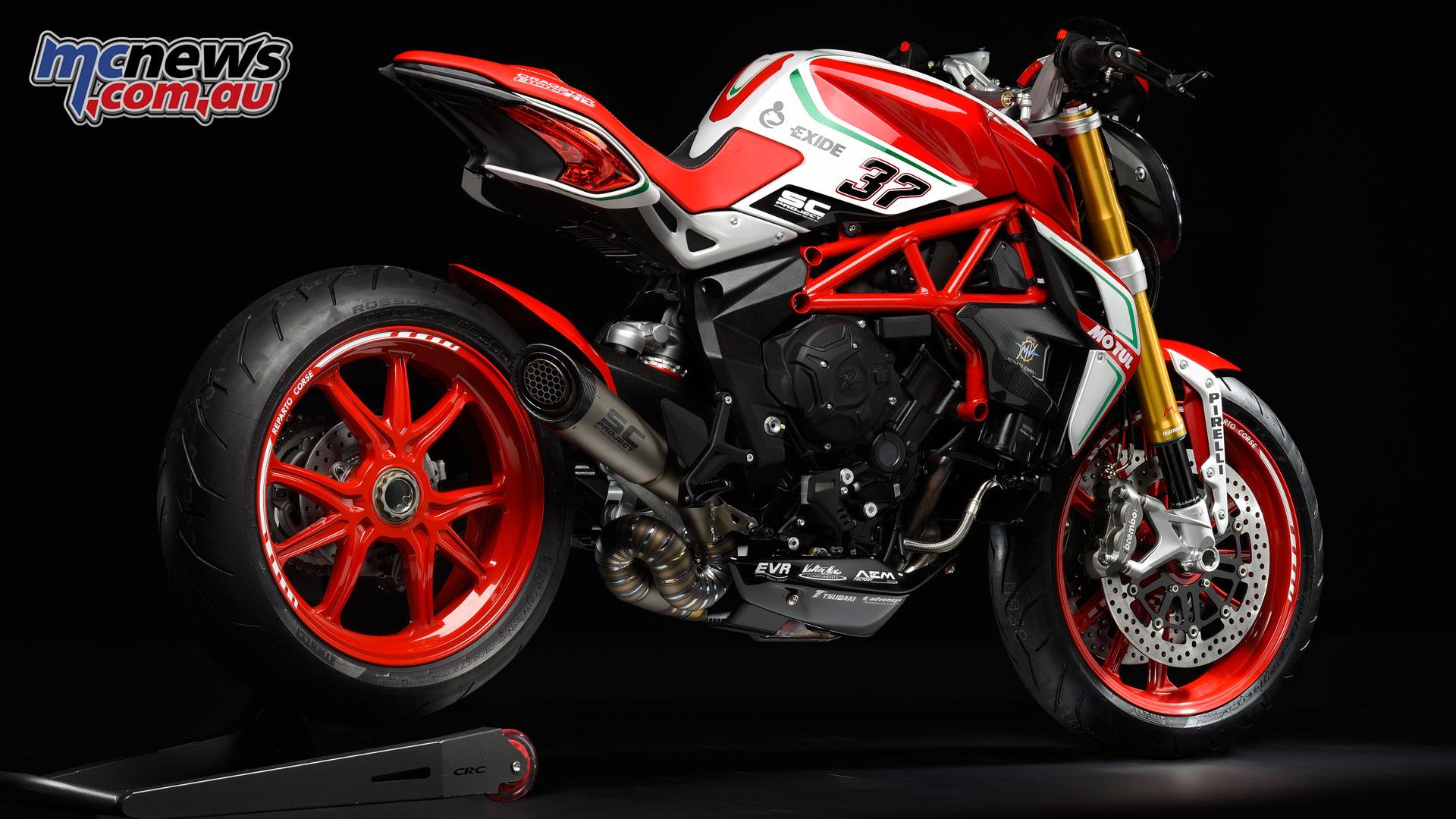 Italian motorcycle designer, MV Agusta, reveals 2018