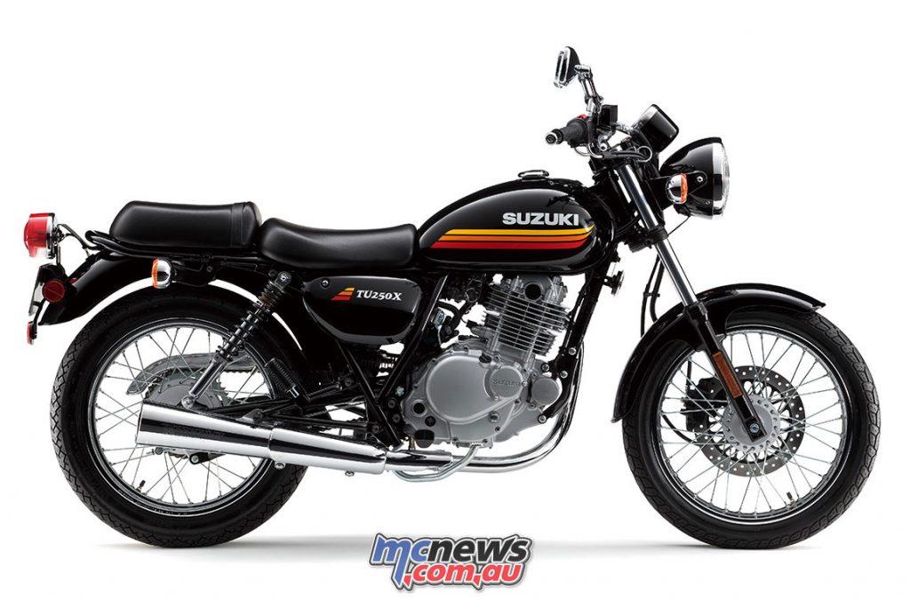 Suzuki's new for 2018 colour-scheme
