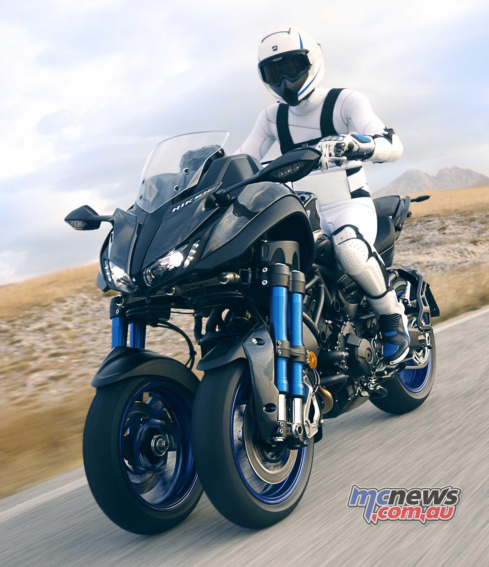 MT-09 powered trike fr...