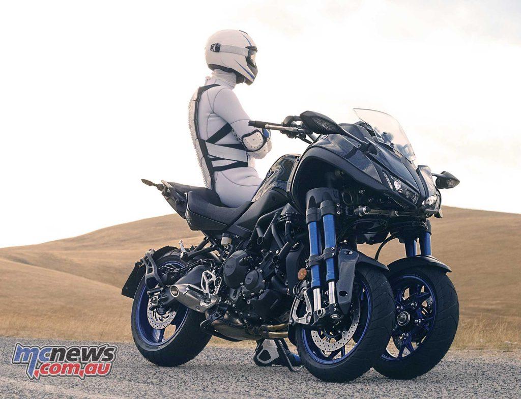 mt 09 powered trike from yamaha mtx850 niken