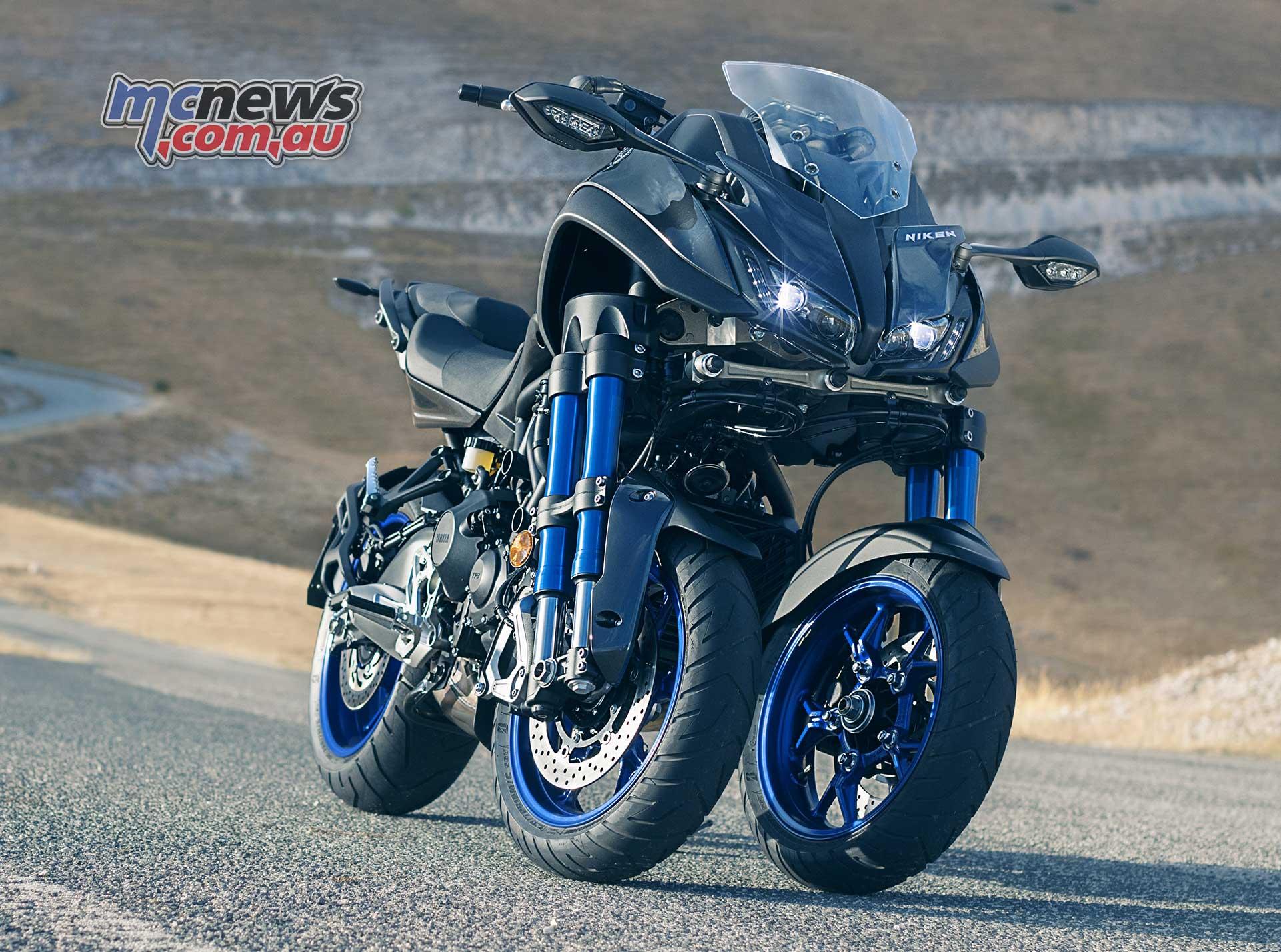 MT-09 powered trike from Yamaha | MTX850 Niken | MCNews.com.au