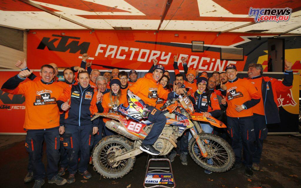 Josep Garcia crowned Enduro 2 champion
