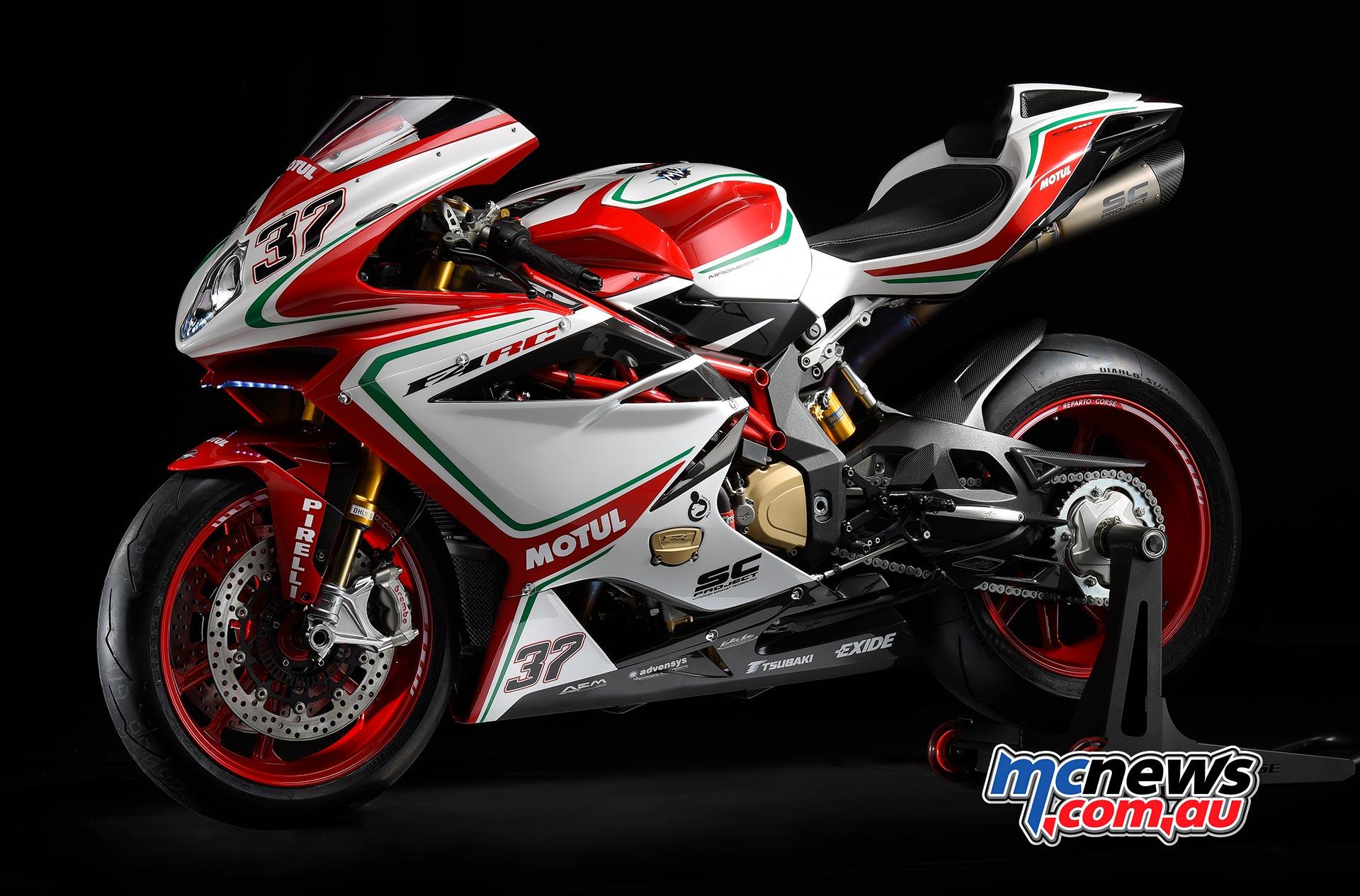 mv agusta  New MV Agusta F4 RC Limited Edition | 212hp | MCNews.