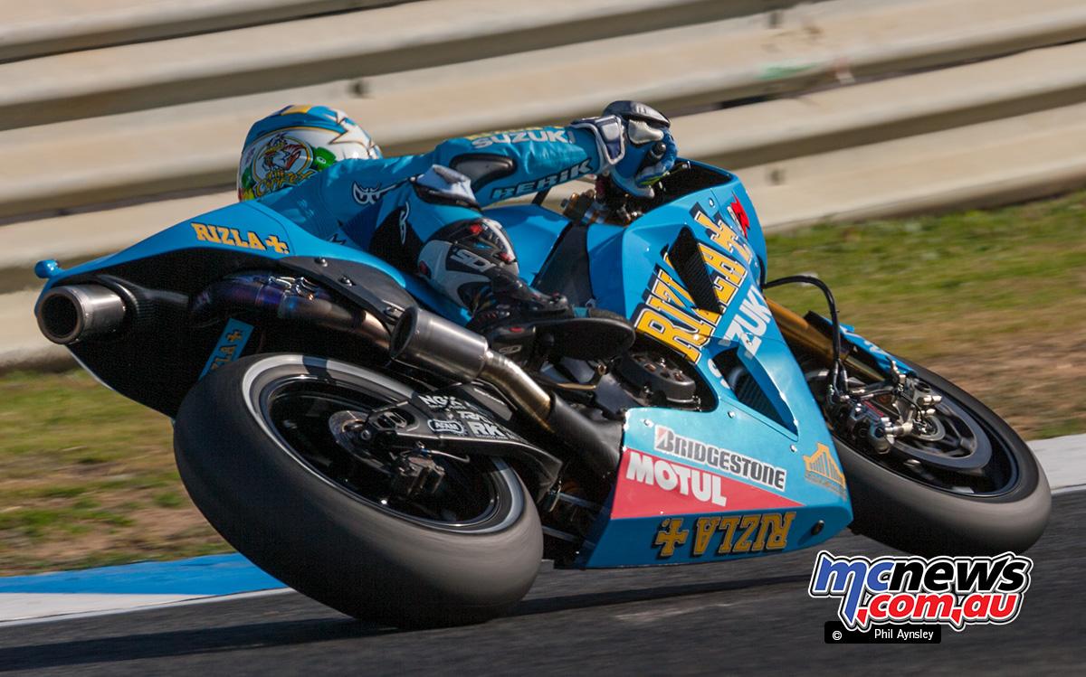Loris Capirossi, Suzuki GSV R.