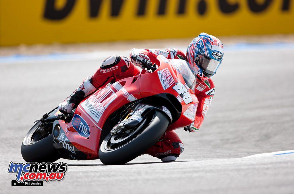 Nicky Hayden, Ducati GP9.