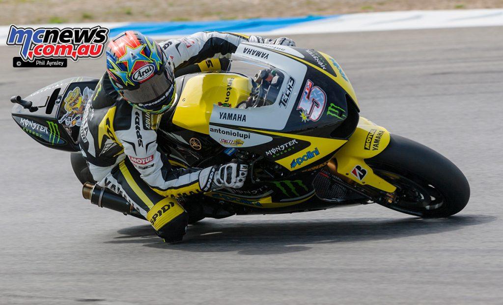 Colin Edwards, Yamaha YZR-M1.