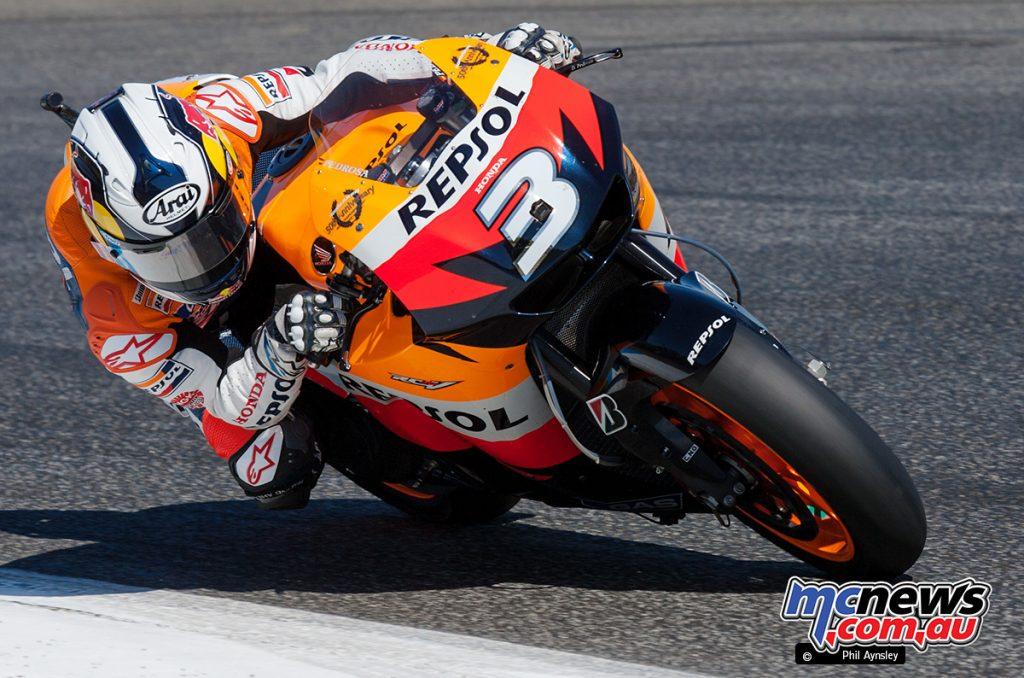 Dani Pedrosa, 800cc Honda RC212V