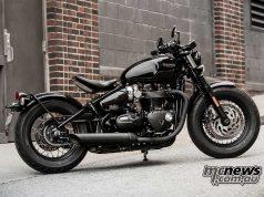 Triumph Bobber Black