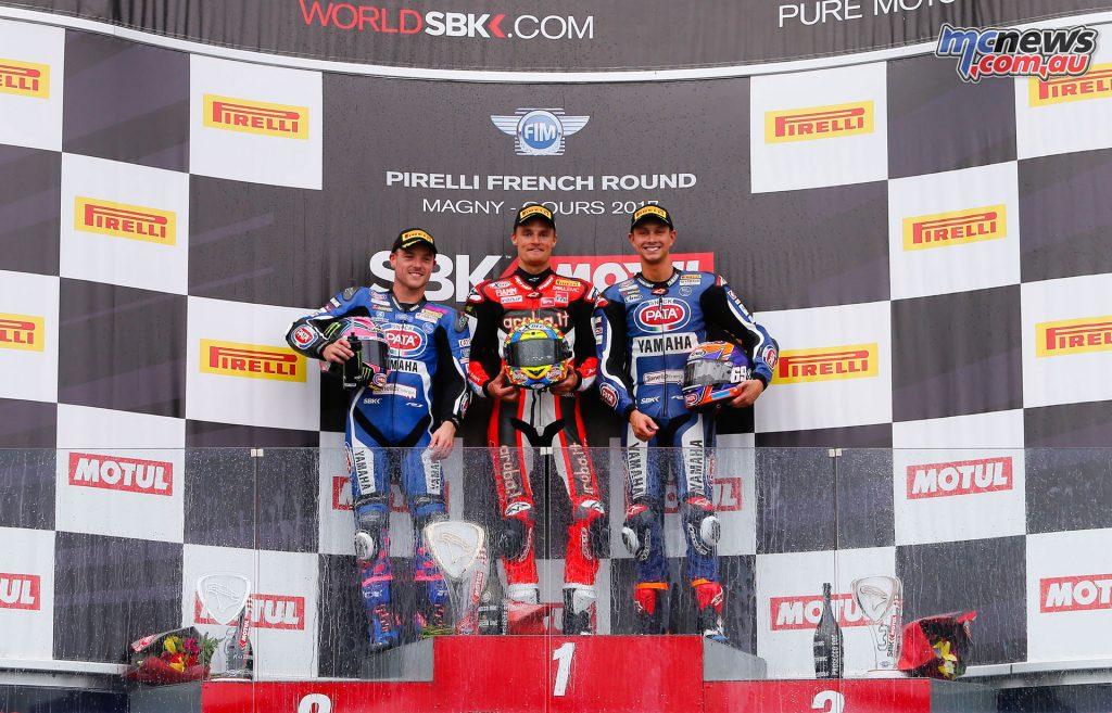 Superbike Podium - Race 2