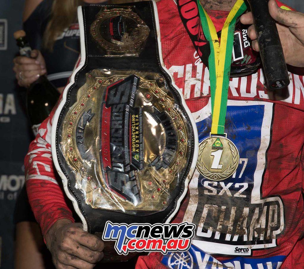 Jackson Richardson - 2017 Australian Supercross Champion SX2