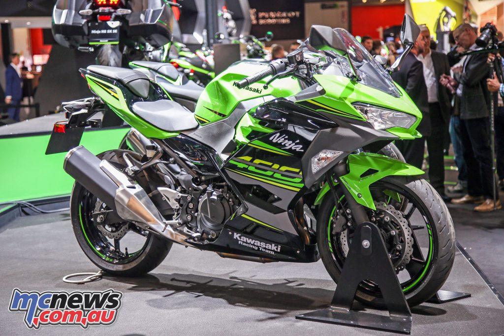 Kawasaki unveil the 2018 Ninja 400 at EICMA