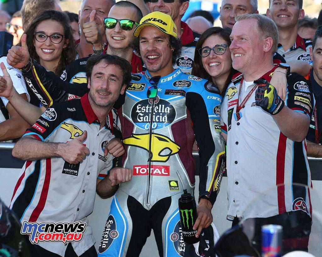 2017 Moto2 Champion Franco Morbidelli - Image by AJRN