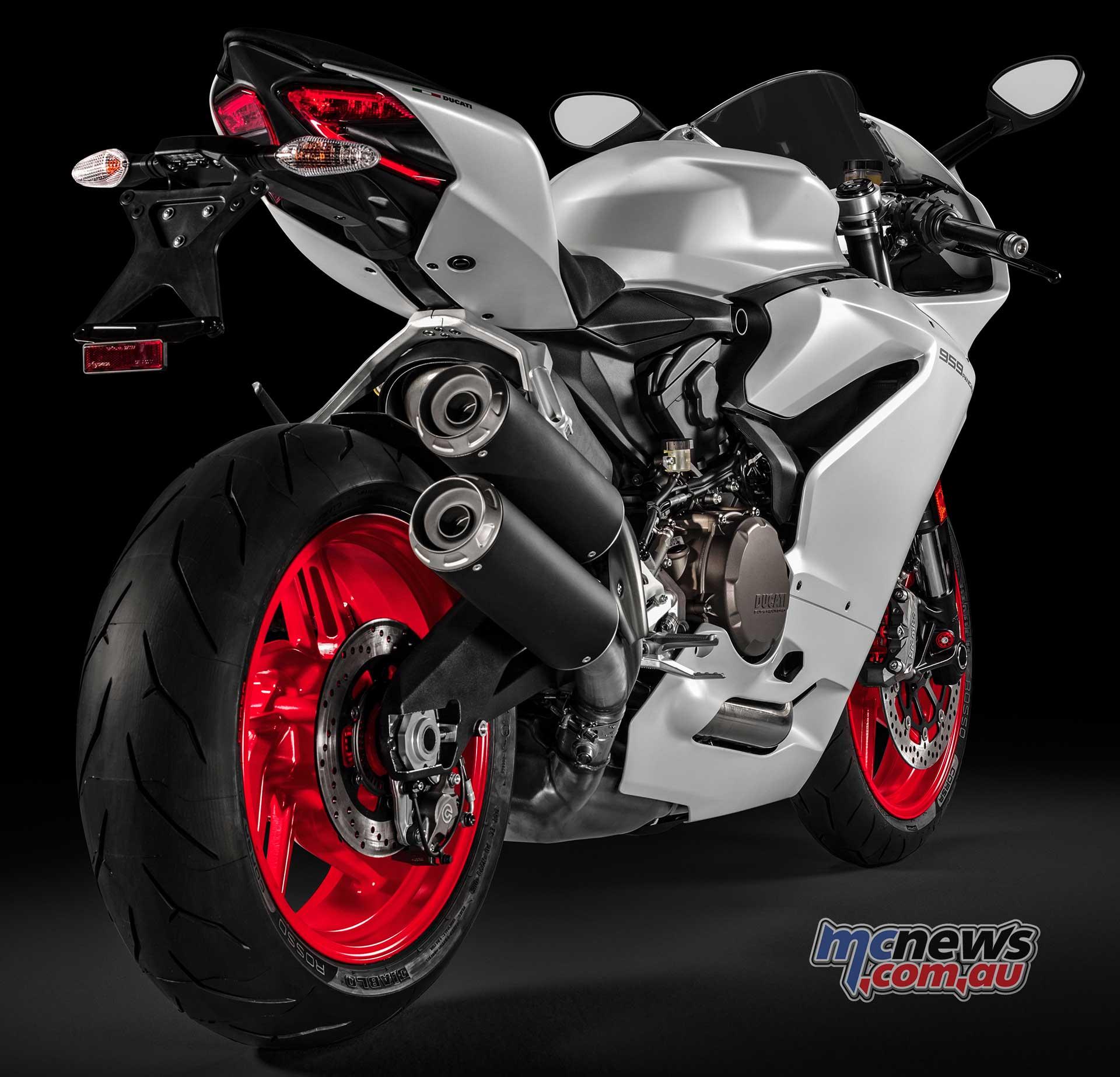 Ducati Bike Front View