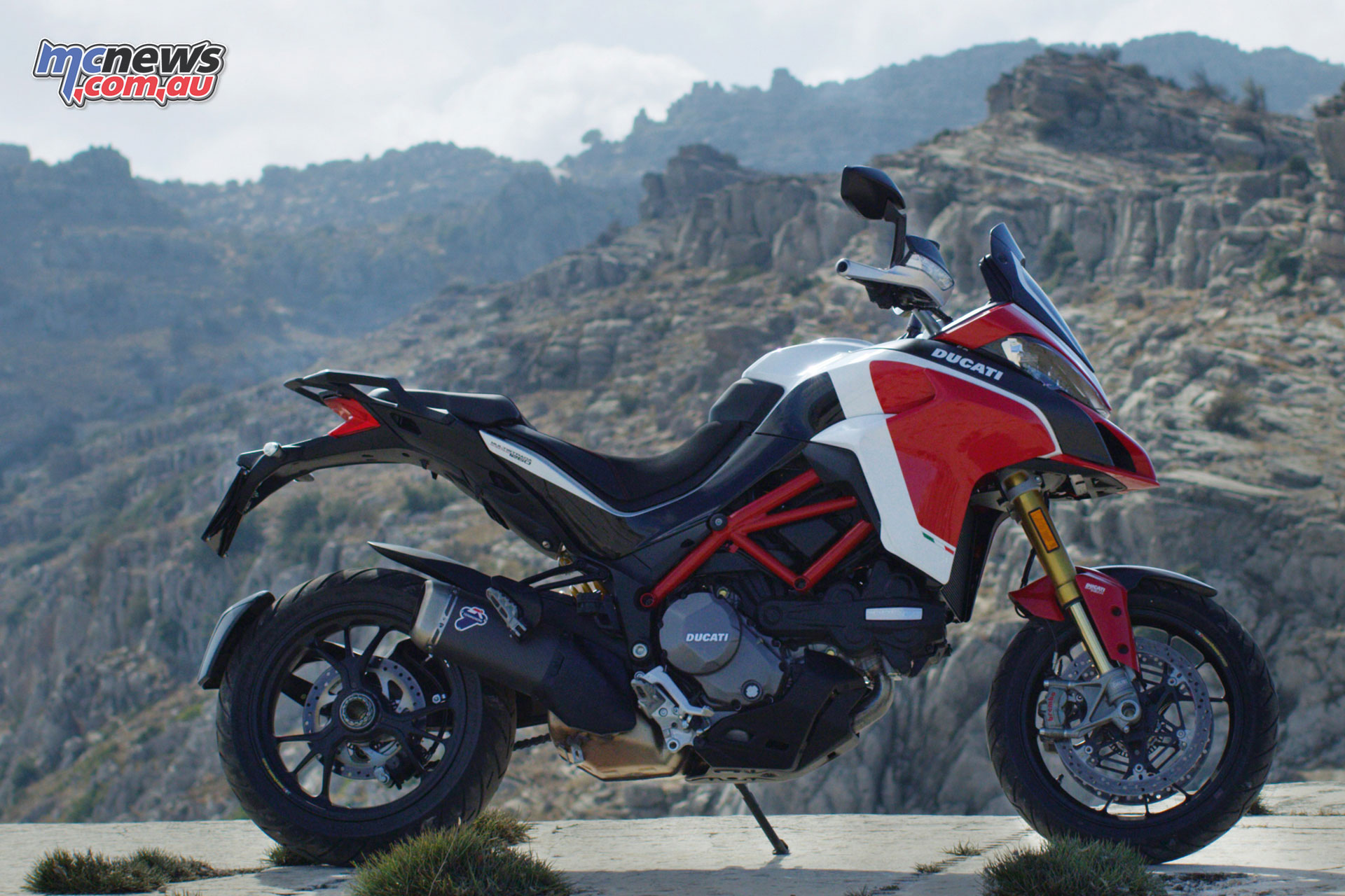 pikes peak multistrada returns for 2018 as a 1260. Black Bedroom Furniture Sets. Home Design Ideas