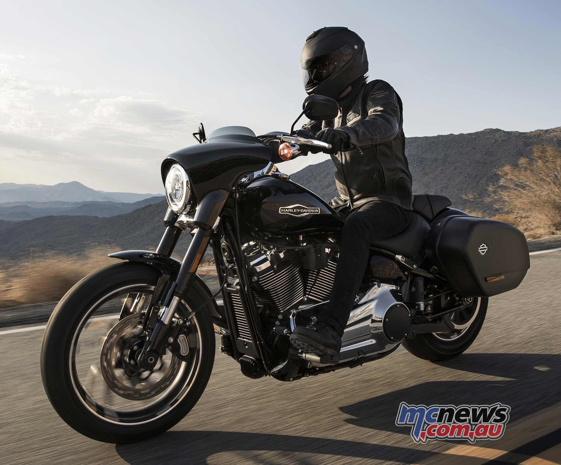 Harley Davidson Softail: Harley Launch New Versatile Softail Sport Glide