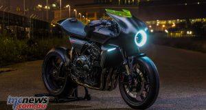 Honda CB4 'Interceptor' concept at EICMA