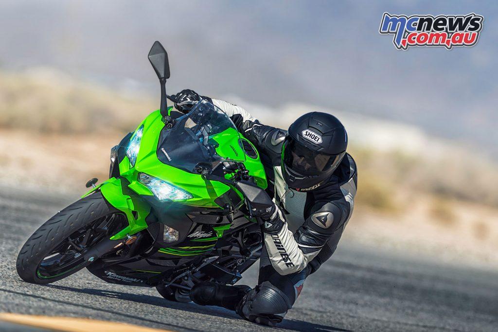 Kawasaki's new for 2018 Ninja 400 offering