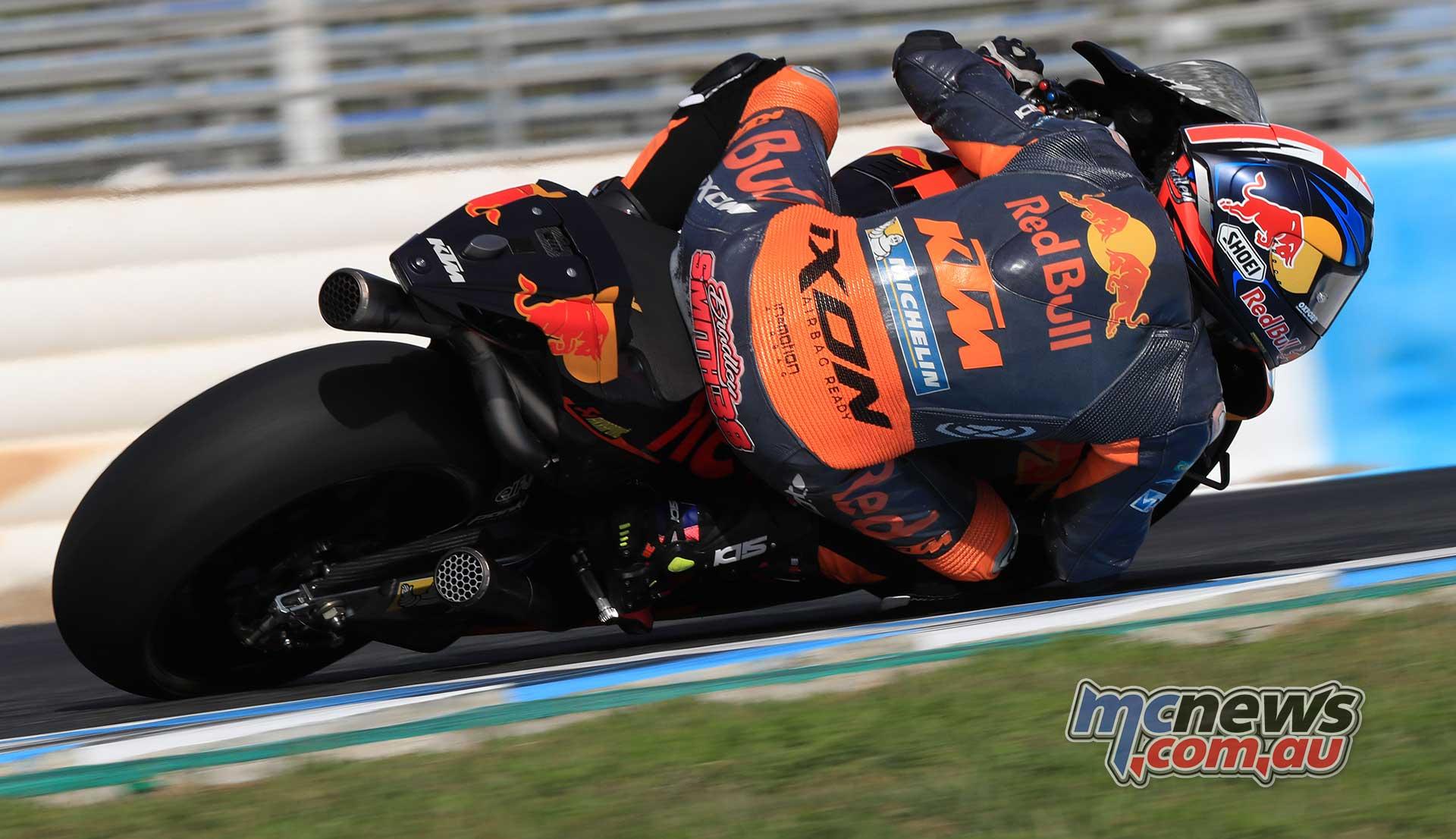 KTM use Jerez Test to set direction for 2018 KTM RC16 | MCNews.com.au