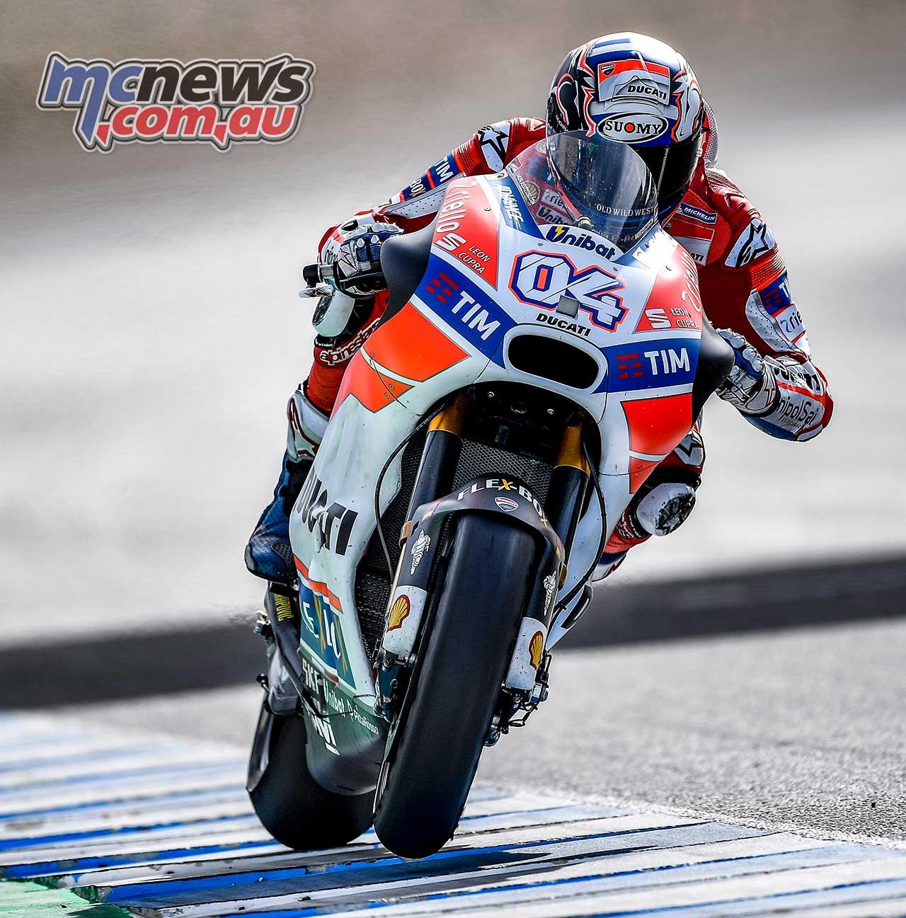 Andrea Dovizioso tops Jerez MotoGP Testing | MCNews.com.au