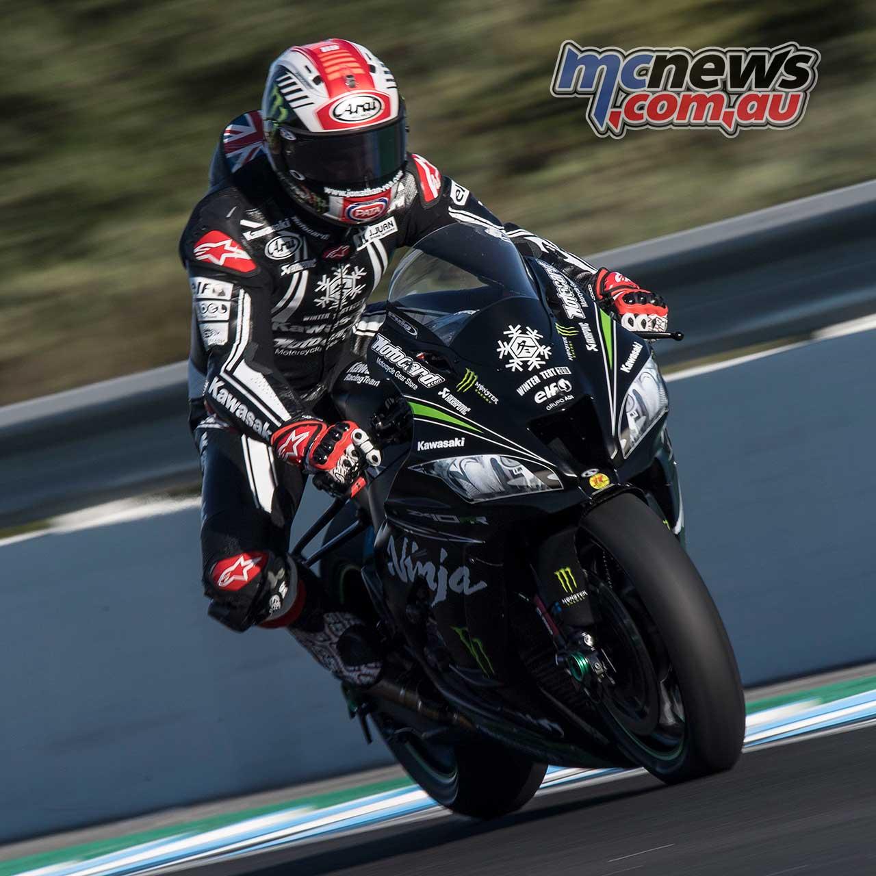 Jonathan Rea faster than MotoGP Riders at Jerez | MCNews.com.au