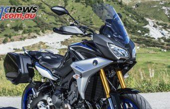 Yamaha Tracer 900GT 'premium sports tourer'