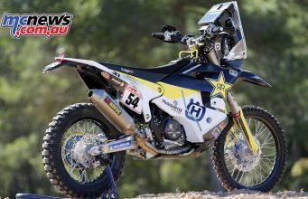 Husqvarna FR 450 Rally for Dakar 2018