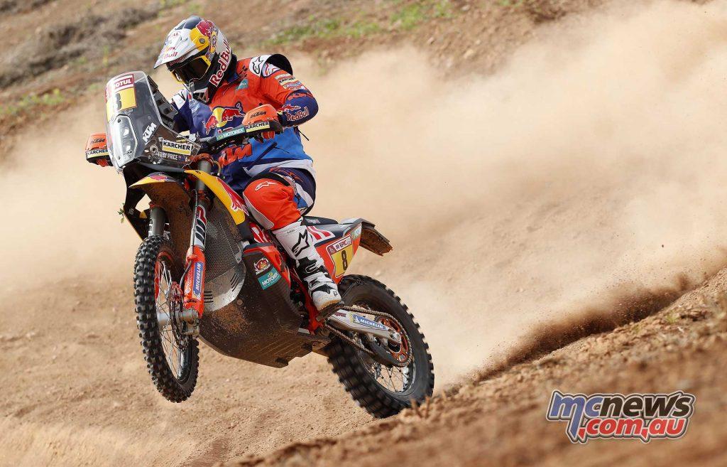 KTM 450 RALLY - Toby Price