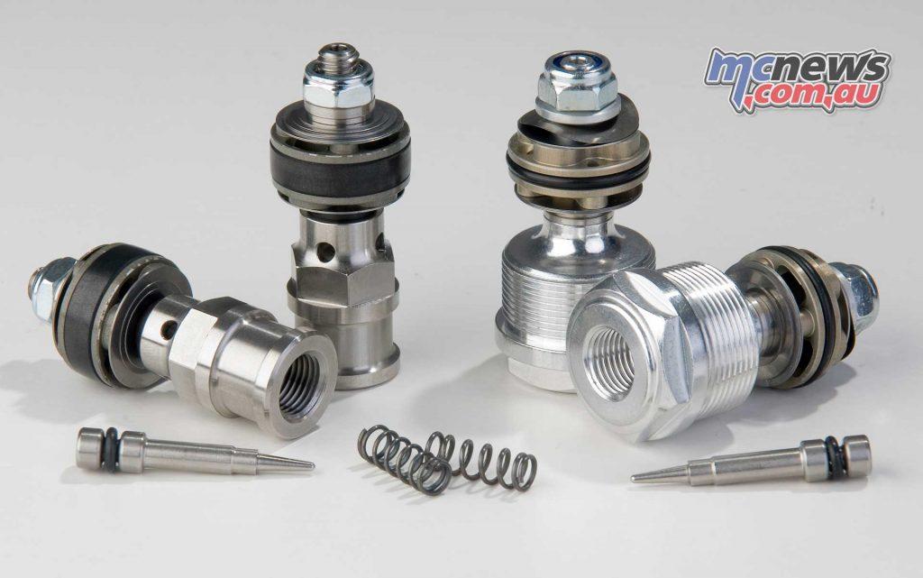 K-Tech SSK piston kit for KYB
