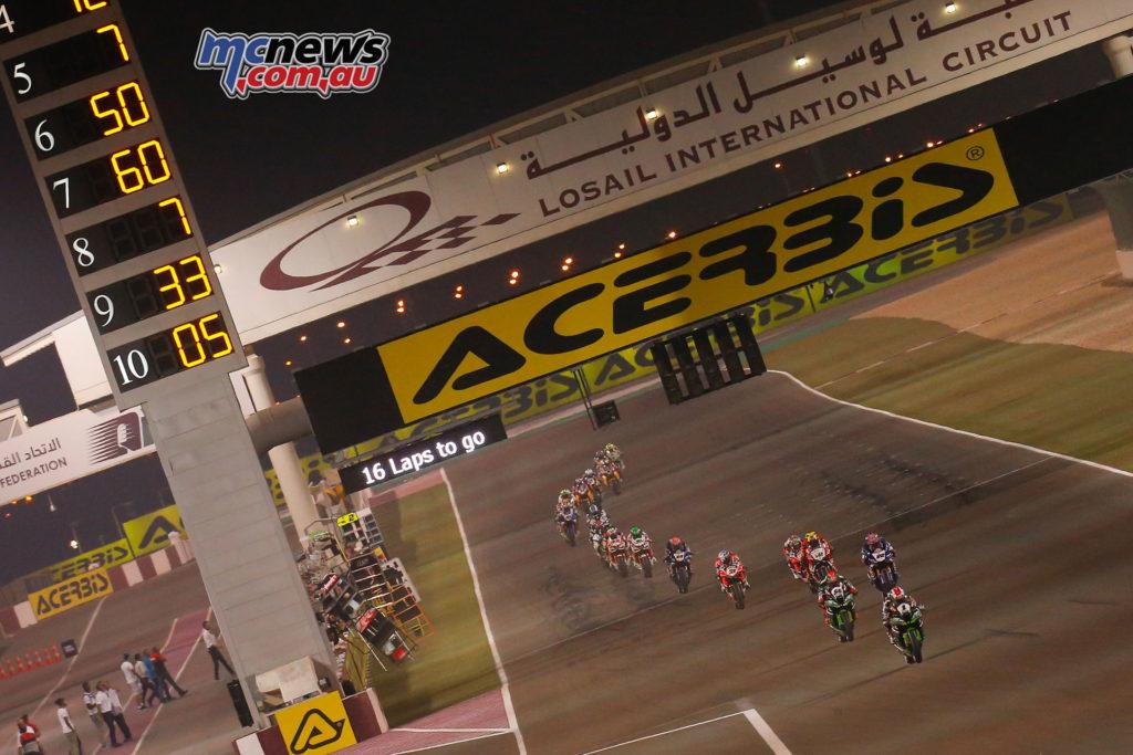 WorldSBK Race 1 - Losail, Qatar