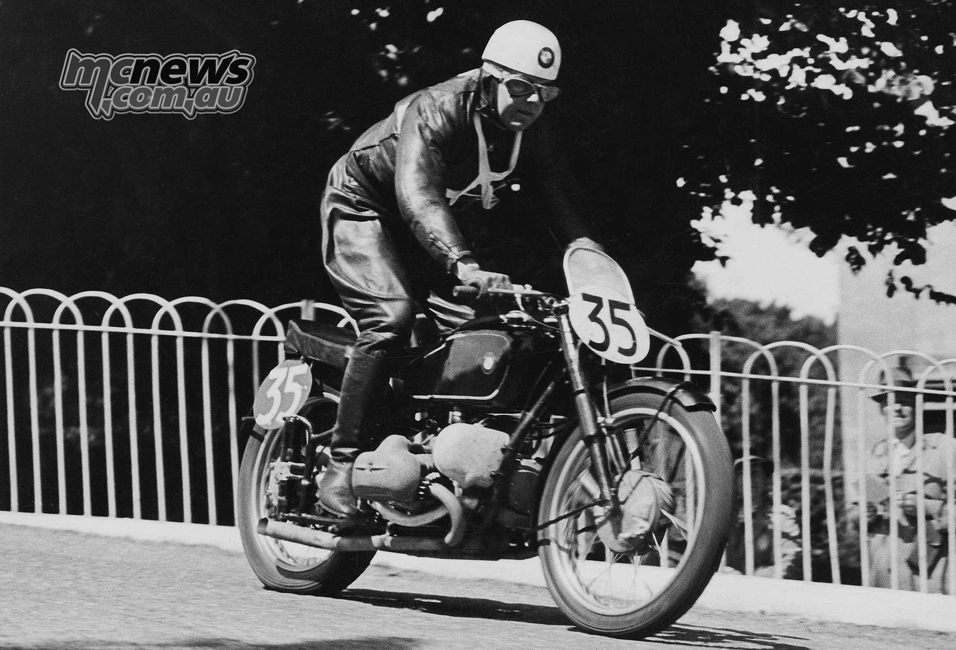 Jock West - Senior TT - 1939