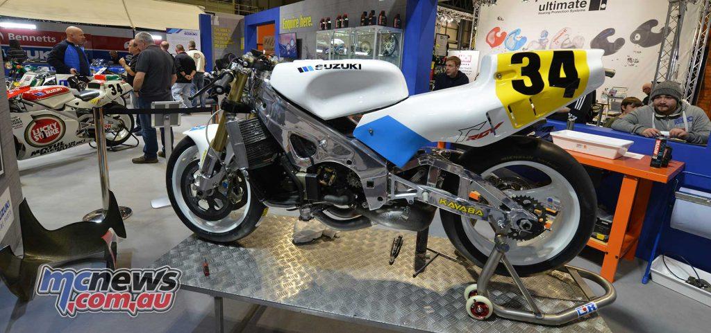 Kevin Schwantz 1989 Suzuki RGV500