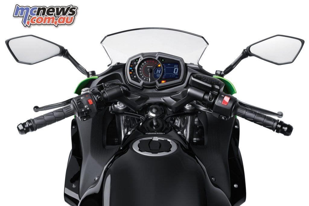 2017 Kawasaki Ninja 650L dash
