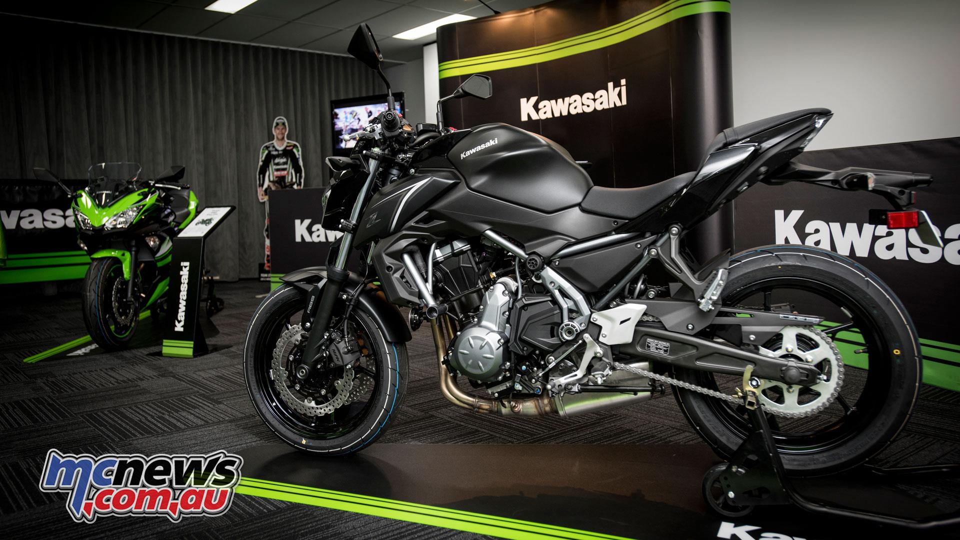 Kawasaki Z650 On Display At HQ In Sydney