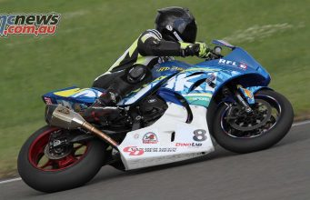 Scott Moir winning at Taupo on his Suzuki GSXR1000 - 2017 Suzuki Series Round One - Bruce McLaren Motorsport Park - Taupo - Sunday December 10 - Image by Terry Stevenson