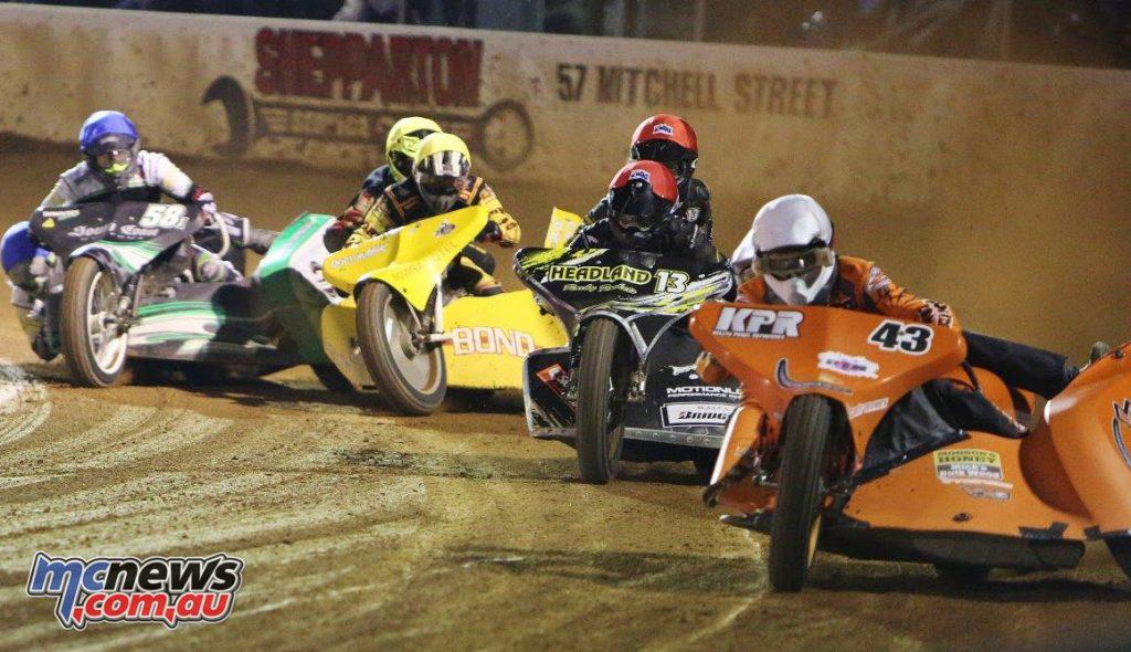 2018 FIM 1000cc Speedway Sidecar World Cup heads to Gillman Speedway