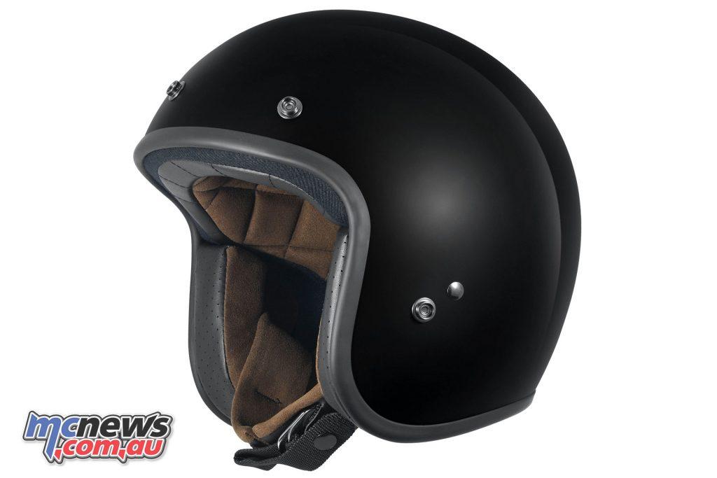 DriRider Vintage Custom Composite Open Face Helmet - $169.95