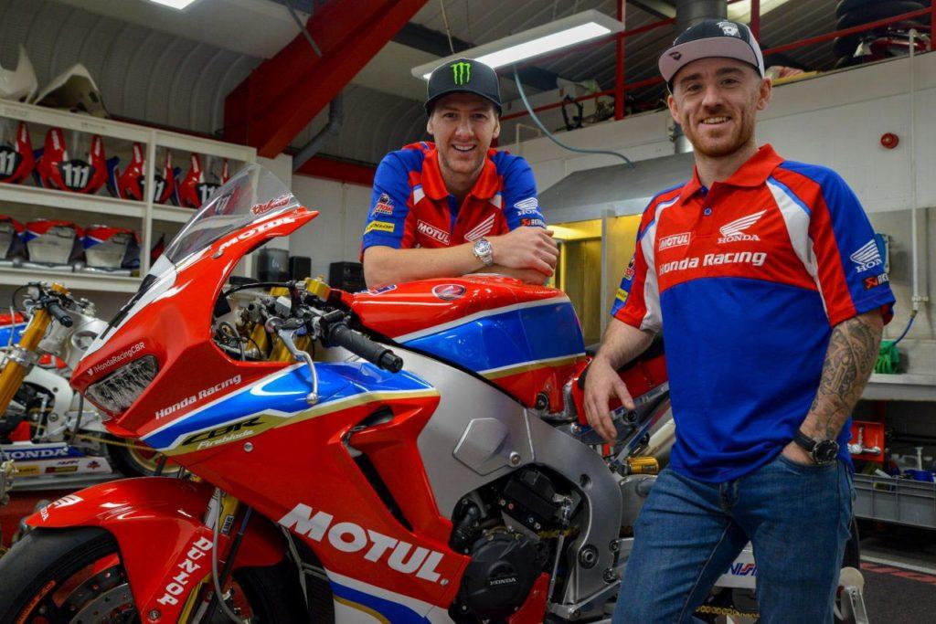 Ian Hutchinson and Lee Johnston