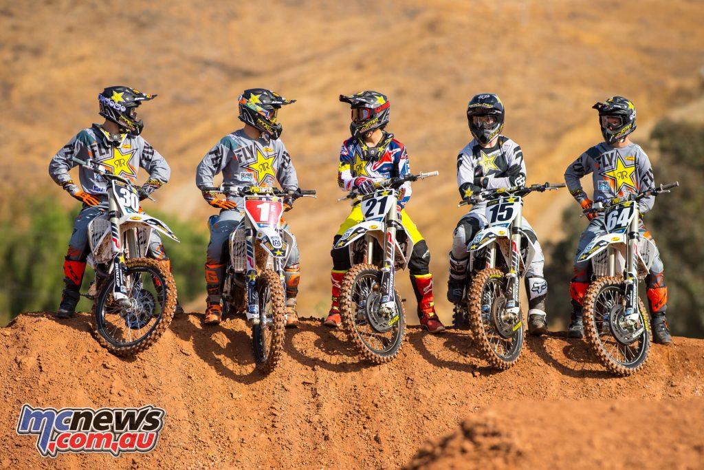 Rockstar Energy Husqvarna Factory Racing's 2018 Team