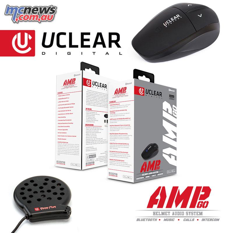 AMP Go Bluetooth Helmet Audio System- $199.95