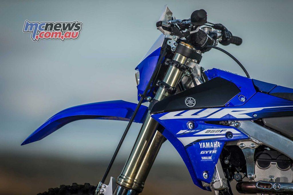 2018 Yamaha WR250F front bodywork