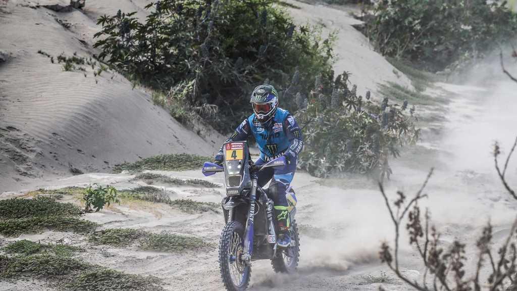 Adrien Van Beveren has won stage four of the 2018 Dakar Rally