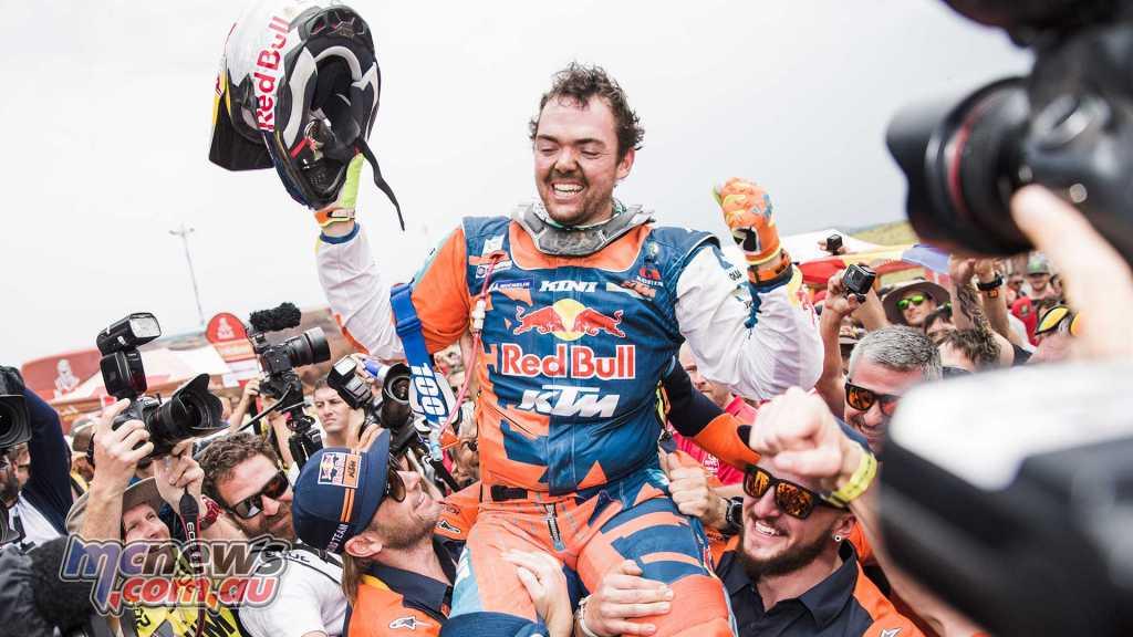 Matthias Walkner has won the 2018 Dakar Rally