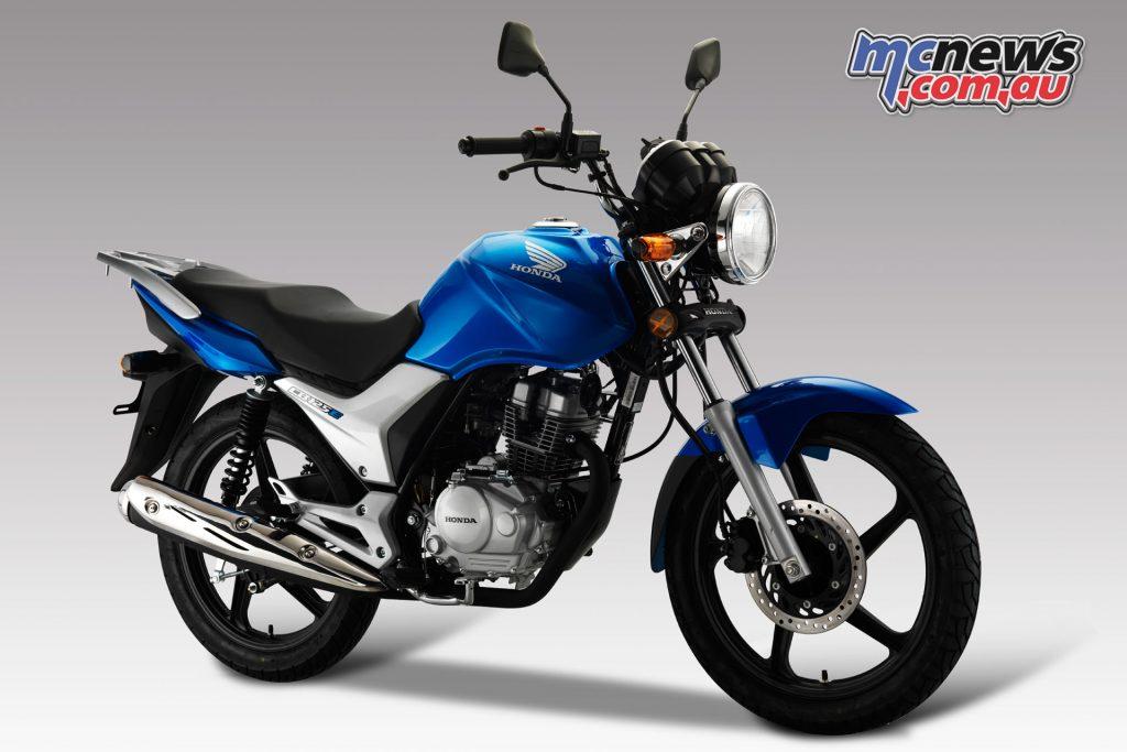 Honda's CB125E is a strong seller